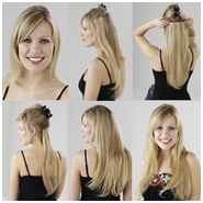 How to install clip in hair extensions at home zazou hair salon use pmusecretfo Image collections