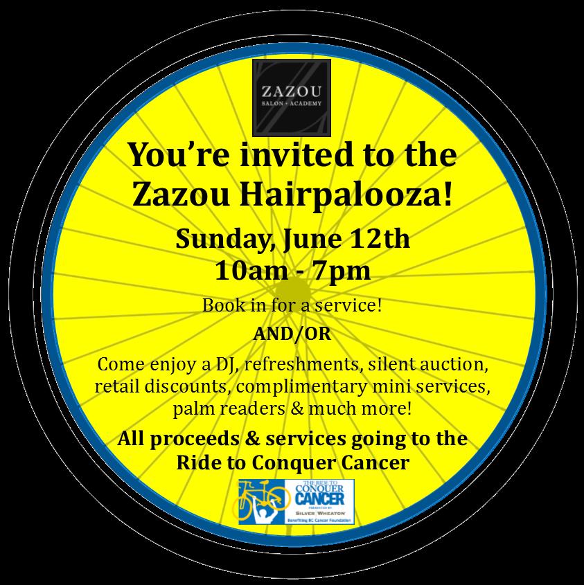 Zazou Hairpalooza